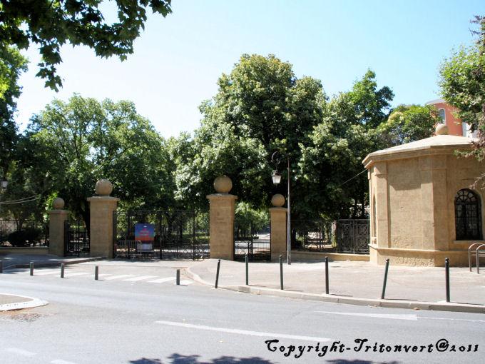 parcs et jardins d'aix en provence