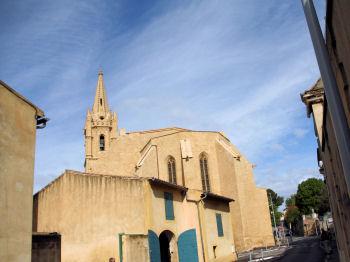 Les monuments de salon de provence - Eglise saint laurent salon de provence ...