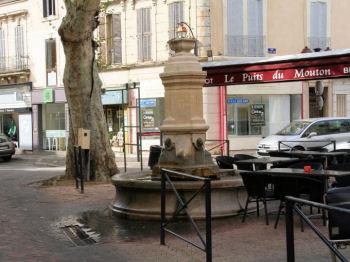 fontaines de salon de provence